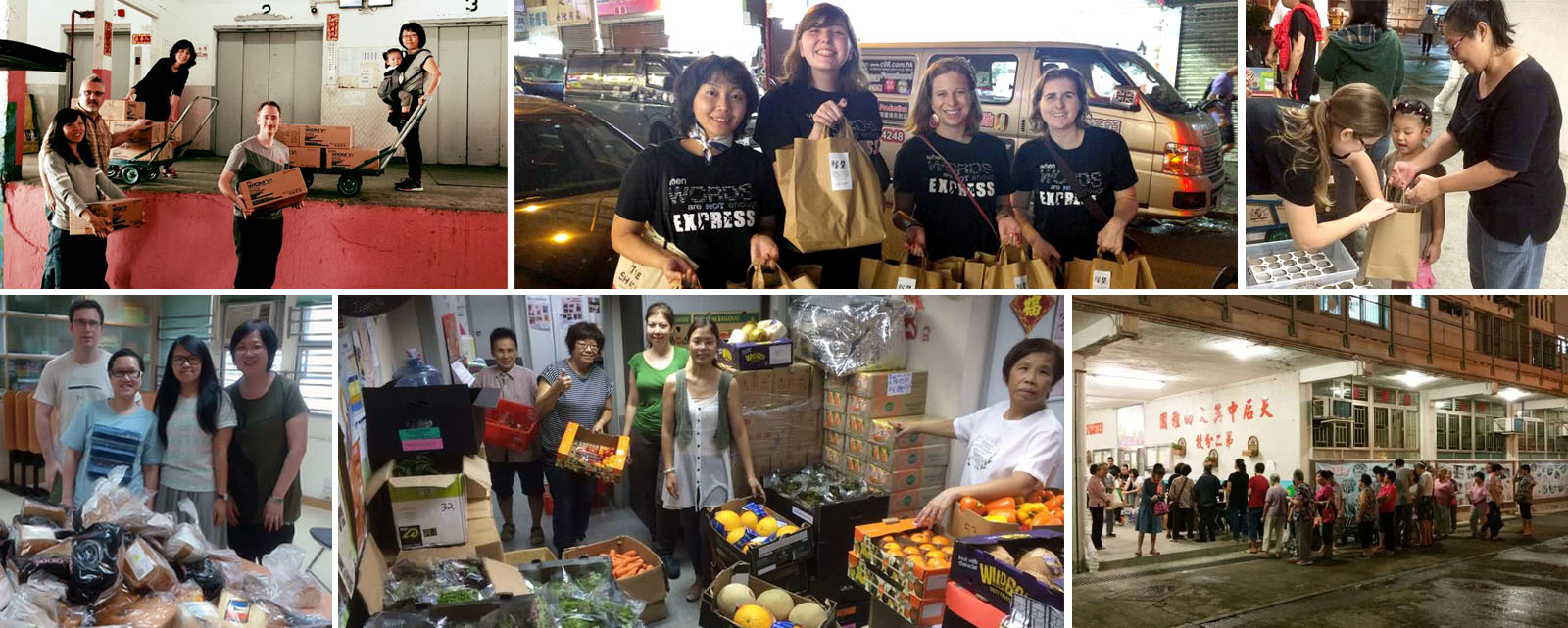 Bread Runs and Food Distributions